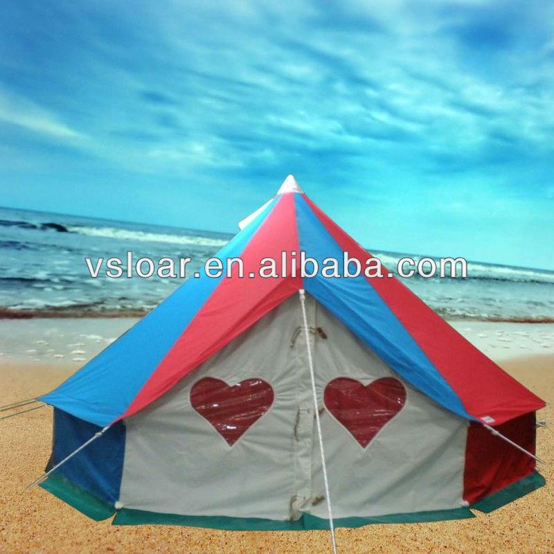 Grande lona família tenda para praia