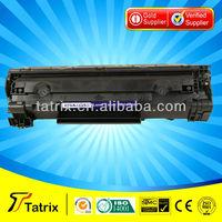 Hot sale CB435A/CB436A 35A 36A toner cartridge for hp LaserJet P1005/P1006 for canon lbp3018/3100/3150 printer spare parts