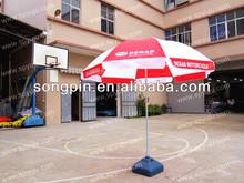 Haute qualité imperméable à l'eau parasol/sérigraphie parasol/parapluie publicitaire extérieur