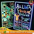 светодиодные табло почерк подсветкой неоновый знак превосходное качество 6063 стандарт aliumin сплав маркер ce& денег& fcc одобрит
