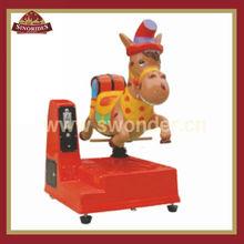 Attractive indoor playground rides Donkey design for children