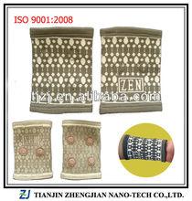 High elastic jacquard sport wrist support(12pcs magnets) ZJ-S002AT
