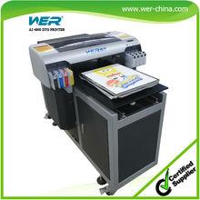 A2 t shirt printer print both light and dark t shirt at 5760 * 2880 dpi with FREE RIP software provided