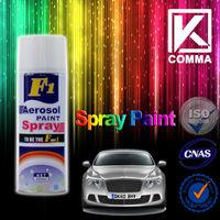 cheap wholesale f1 msds acrylic removable aerosol car spray paint