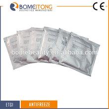 Prevent skin frostbite Criolipolysis antifreeze membranes/ film