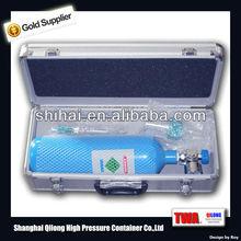 bombola di ossigeno portatile per uso medico