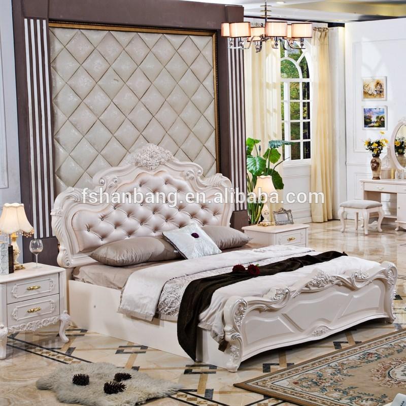 China foshan nieuw design moderne luxe elegante meester en tiener koning queen size slaapkamer - Tiener slaapkamer stijl ...