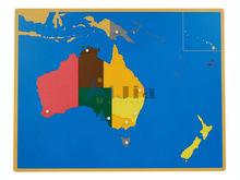 montessori toy-montessori wooden map