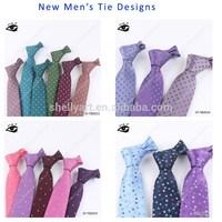 2015 New Design of mens neck ties Pure Silk Ties business ties