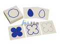 Montessori materials Geometric Form Cards