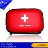 GJ-2000-1 PU Material Red eva first aid bag