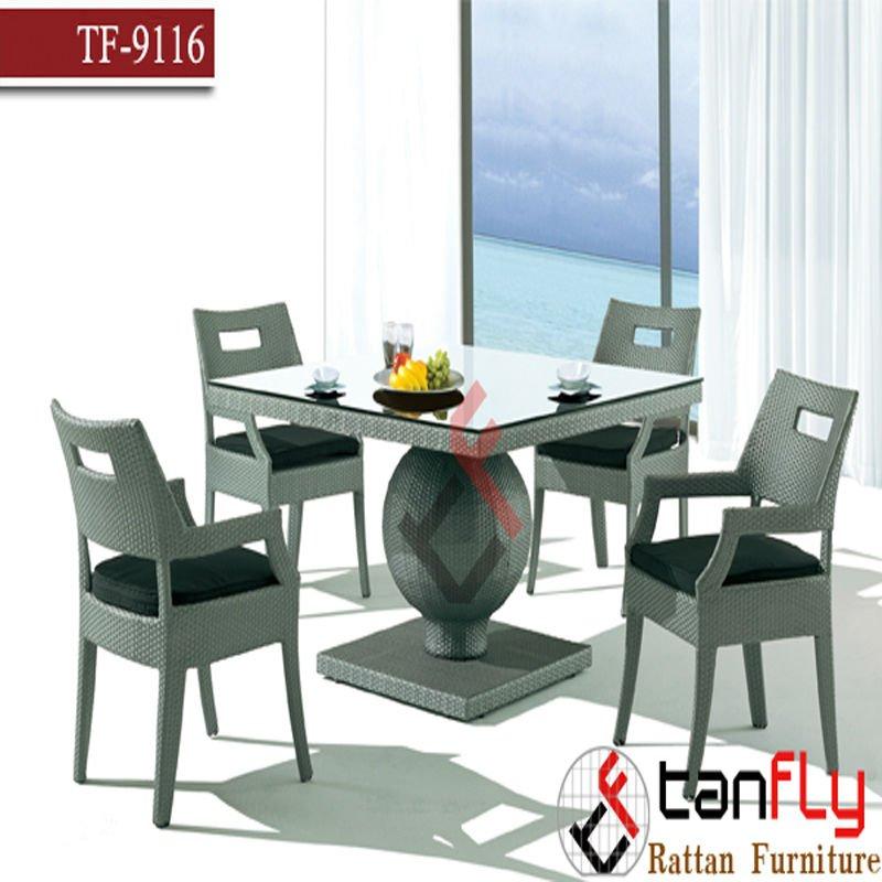 Moveis De Vime Para Sala De Jantar ~ Vime moderna sala de jantar móveisjardim mesa de jantarConjuntos de