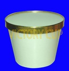 1000ml ice cream paper bowl and lid