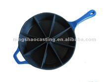 cast iron enamel muffin pan