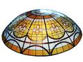 di lusso stile tiffany cupola di vetro colorato per il soffitto
