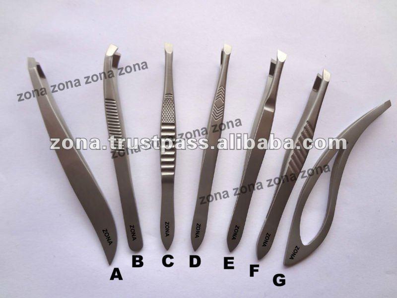 Cosmetic Tweezers/ Eyebrow Tweezers / Stainless Steel Tweezers