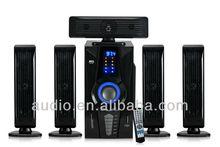 2013 5.1 FM home cinema with USB/SD/LED/FM/REMOTE CONTRO