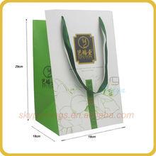 Custom made FSC tea bag paper roll with logo printing