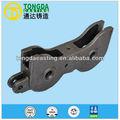 autorizados china auto peças de fundição de rodas do trem