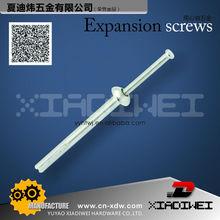 zinc alloy hammer drive anchor 1/4*4 in yuyao