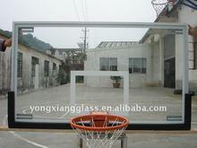 Transparent Aluminum Framed Glass basketball Backboard