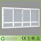 Aluminum/UPVC/PVC glass sliding reception window