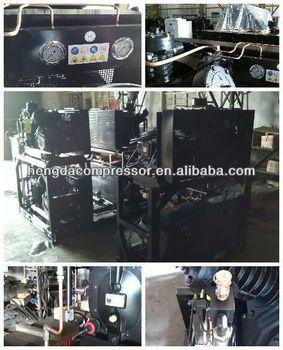 emergencytire/tyre sealer& inflator compressor 140CFM 580PSI 60HP