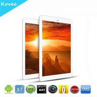 9.7 inch retina Screen ONDA V975 MID With Android 4.2 Allwinner A31 Quad Core 2*CAM HDMI RAM 2GB ROM 16GB tablet pc