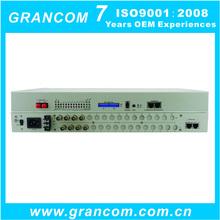 4E1 + 2 FE 4E1 PDH Multiplexer with Single/Double Optical Port