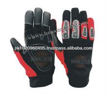 Gun Cut Mechanic Gloves, Knuckle Protection