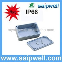IP65 waterproof anodizing aluminum box/enclosure for electronic,aluminum junction box 120*80*55mm