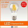 2014 new product 360 degree 8w filament led