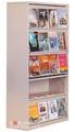 Revistero diseño, Libro estante de exhibición, Antiguo de la biblioteca de estantería