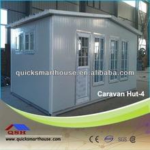 Three Sides Wall Caravan Hut