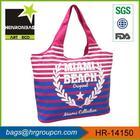 HR-14150 2014 new style factory beach bag canvas custom photo printing