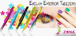 Hot Selling Eyelash Extension Tweezers / Stainless Steel Cosmetic Tweezers / Get Lash Tweezers Under Your Brand