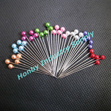 Plastic ball straight head pins for Christmas decoration supplies