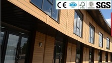 Wood Plastic Composite Wall Cladding with SGS, ISO, CE&FSC certificate
