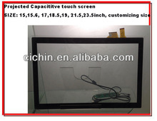 10.1,11.6,13.3,14.1,15, 15.6, 17, 18.5, 19, 21.5, 23.6 inch projected capacitive touch screen panel for monitors