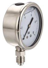 Canton Fair venda quente conexão inferior All SS medidor de pressão
