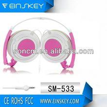 Headband Stereo SM-533 Basketball Headphone