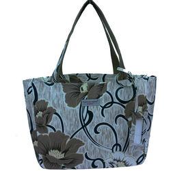 New design Guangzhou manufacturer flower pattern tote bag