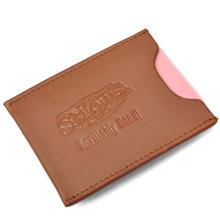 Crafts Gift Simple Magnet Leather Money Clip Card Holder Wallet
