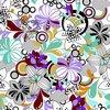 CF190 nylon spandex fabric elastic swimwear fabric of floral print