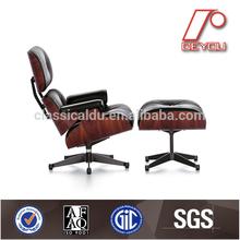 Eames lounge chair with ottoman replica, eames chair replica, reclining chair DU-388B
