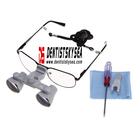 Dental 2.5 X Surgical Binocular Loupes Magnifier Glasses loupe led,mental health service