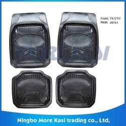 4/5pcs full set rubber 3d auto mat new and fachion design