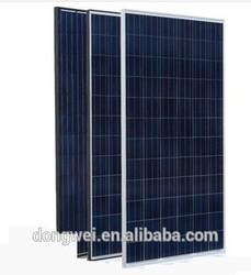High efficiency polycrystalline solar panel for solar power system,205W solar panels