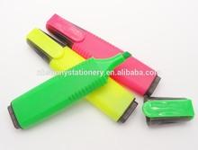 2014 brilliant color Highlighter marker pen for school & office use