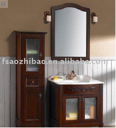 solid wood bathroom cabinet buy bathroom cabinet solid wood bathroom